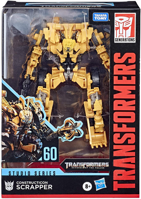 Transformers Generations Studio Series Scrapper Voyager Action Figure #60
