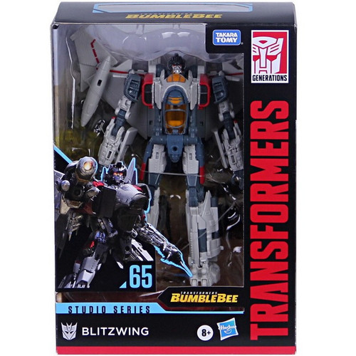 Transformers Generations Studio Series Blitzwing Voyager Action Figure #65