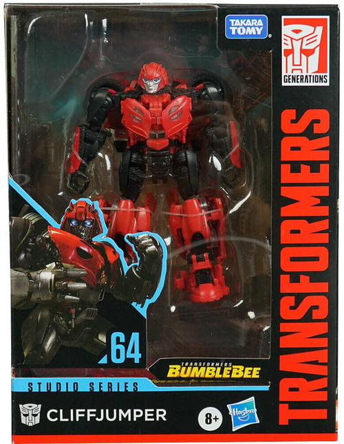 Transformers Generations Studio Series Cliffjumper Deluxe Action Figure #64