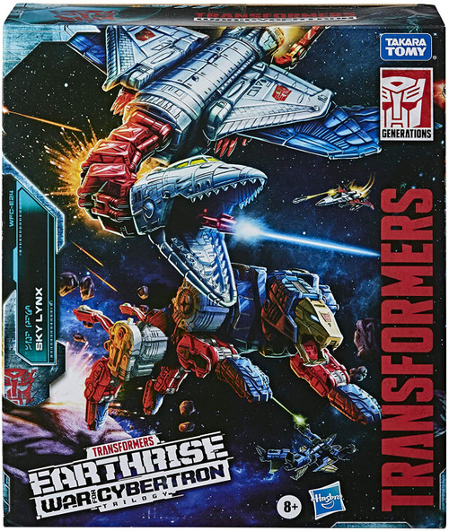 Transformers Generations War for Cybertron: Earthrise Sky Lynx Commander Action Figure