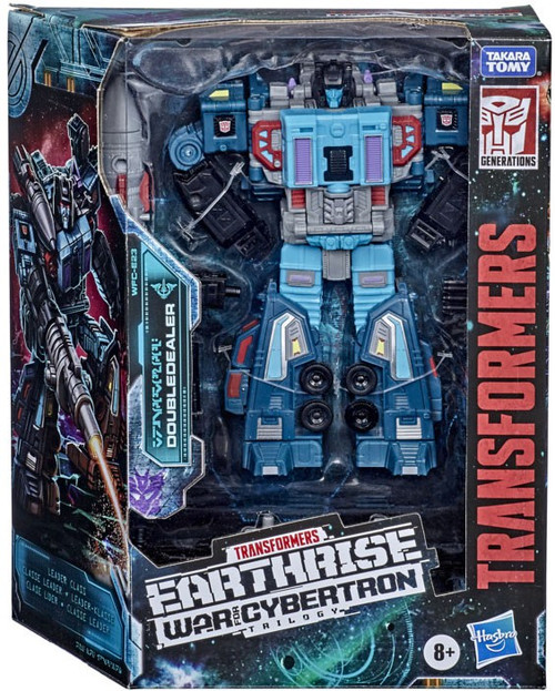 Transformers Generations War for Cybertron: Earthrise Doubledealer Leader Action Figure