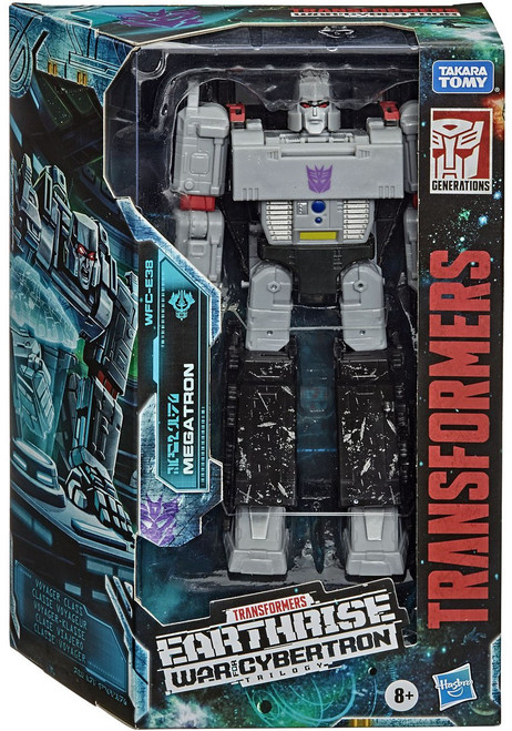 Transformers Generations War for Cybertron: Earthrise Megatron Voyager Action Figure WFC-E38 (Pre-Order ships January)