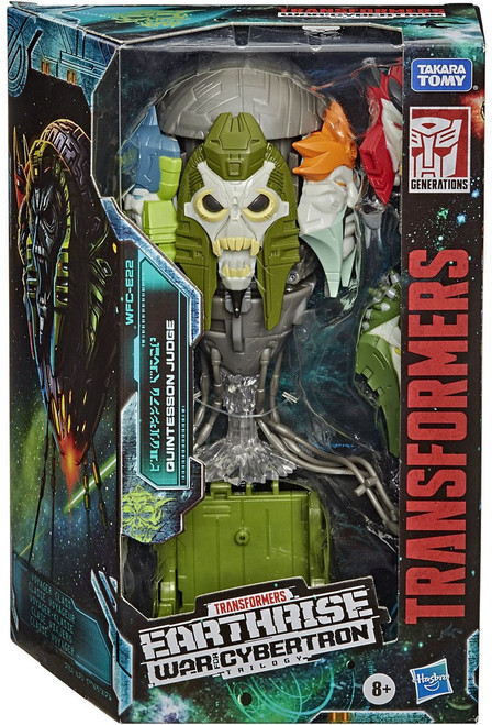 Transformers Generations Earthrise: War for Cybertron Trilogy Quintesson Judge Voyager Action Figure (Pre-Order ships February)