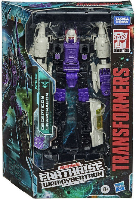 Transformers Generations Earthrise: War for Cybertron Trilogy Snapdragon Voyager Action Figure WFC-E21