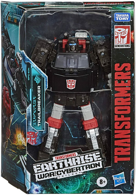 Transformers Generations War for Cybertron: Earthrise Trailbreaker Deluxe Action Figure