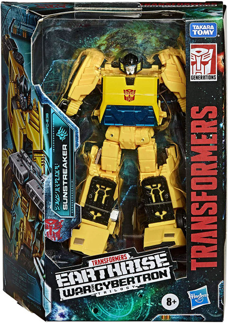 Transformers Generations Earthrise: War for Cybertron Trilogy Sunstreaker Deluxe Action Figure