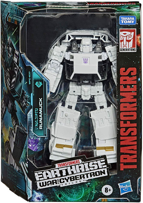 Transformers Generations War for Cybertron: Earthrise Runamuck Deluxe Action Figure WFC-E37