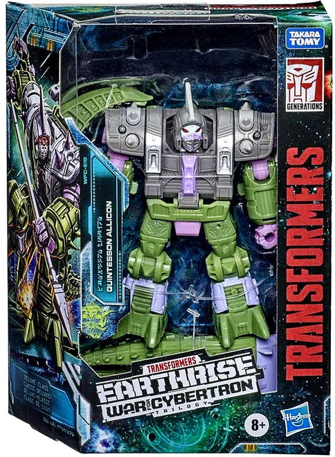 Transformers Generations War for Cybertron: Earthrise Quintesson Alicon Deluxe Action Figure