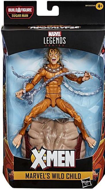 X-Men Marvel Legends Sugar Man Series Wild Child Action Figure
