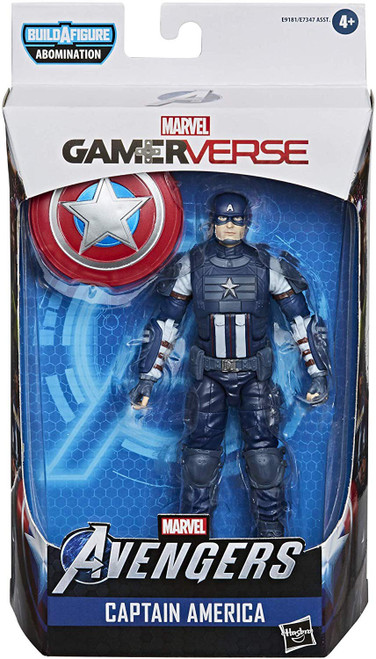 Gamerverse Marvel Legends Abomination Series Captain America Action Figure