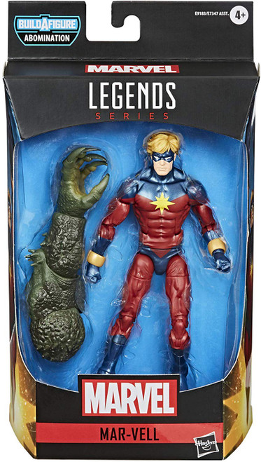 Marvel Legends Abomination Series Mar-Vell Action Figure
