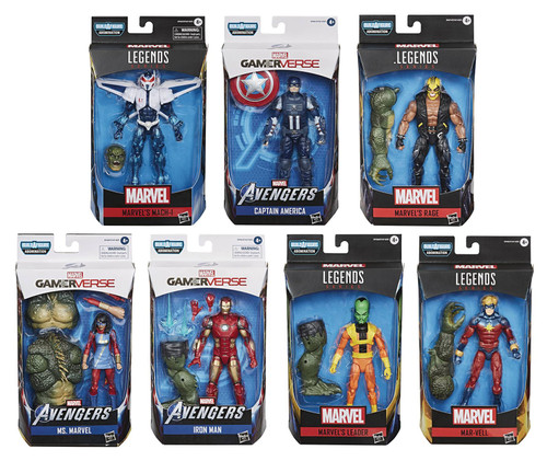 Marvel Legends Abomination Series Set of 7 Action Figures