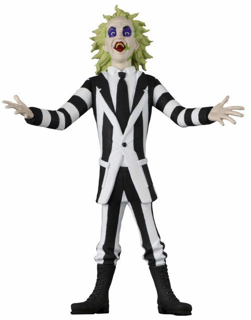 NECA Horror Toony Terrors Series 4 Beetlejuice Action Figure (Pre-Order ships December)