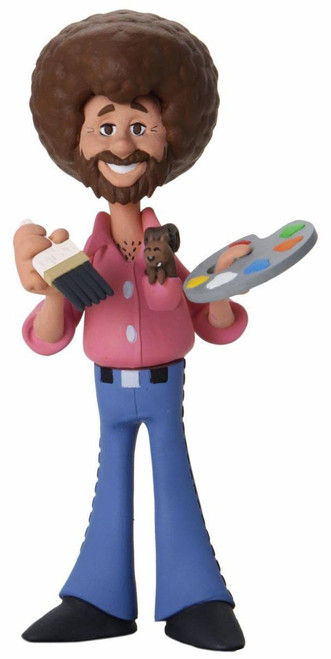 NECA Toony Classics Bob Ross Action Figure