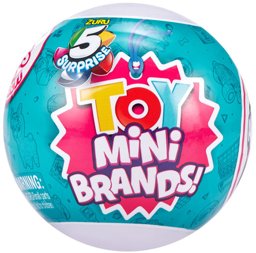 5 Surprise Mini Brands! TOY Mystery Pack