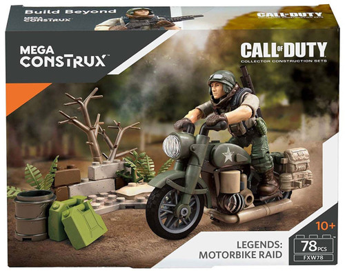 Call of Duty Legends Motorbike Raid Set FXW78 [Damaged Package]