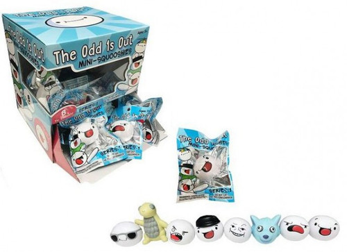 Odd 1s Out Mini Squooshies 3-Inch Mystery Box [24 Packs]