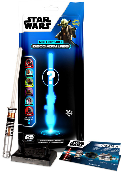 Star Wars Discovery Labs Mini Lightsaber Mystery Pack