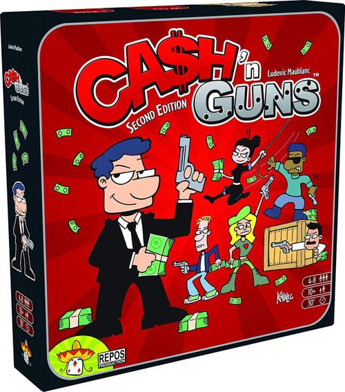 Cash 'n Guns Board Game [2nd Edition]