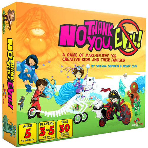 No Thank You, Evil! Board Game