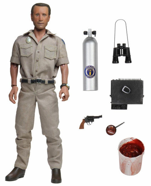 NECA Jaws Chief Martin Brody Clothed Action Figure [Cancelled By Manufacturer!] (Pre-Order ships October)