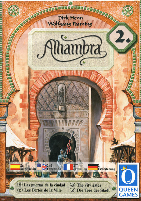 Alhambra The City Gates Board Game Expansion