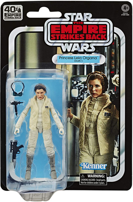 Star Wars The Empire Strikes Back 40th Anniversary Wave 1 Princess Leia Organa Action Figure [Hoth]