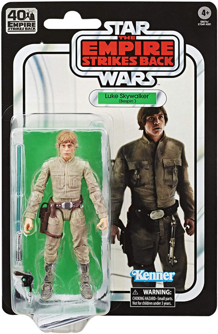 Star Wars The Empire Strikes Back 40th Anniversary Wave 1 Luke Skywalker Action Figure [Bespin]