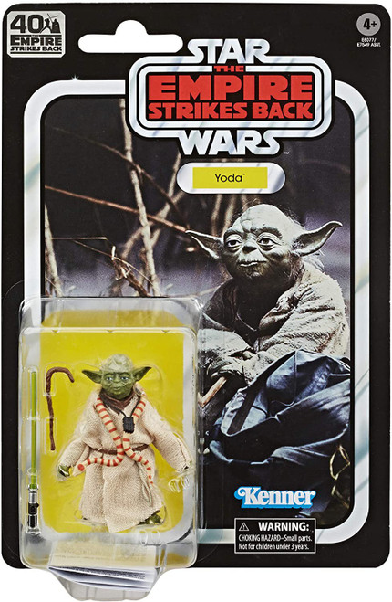 Star Wars The Empire Strikes Back 40th Anniversary Wave 1 Yoda Action Figure