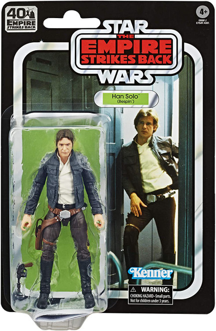 Star Wars The Empire Strikes Back 40th Anniversary Wave 1 Han Solo Action Figure [Bespin]