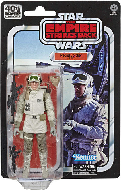 Star Wars The Empire Strikes Back 40th Anniversary Wave 2 Rebel Soldier Action Figure [Hoth]