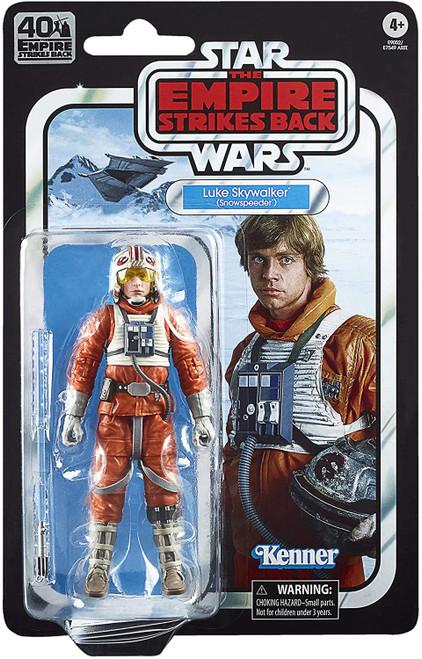 Star Wars The Empire Strikes Back 40th Anniversary Wave 2 Luke Skywalker Action Figure [Snowspeeder]