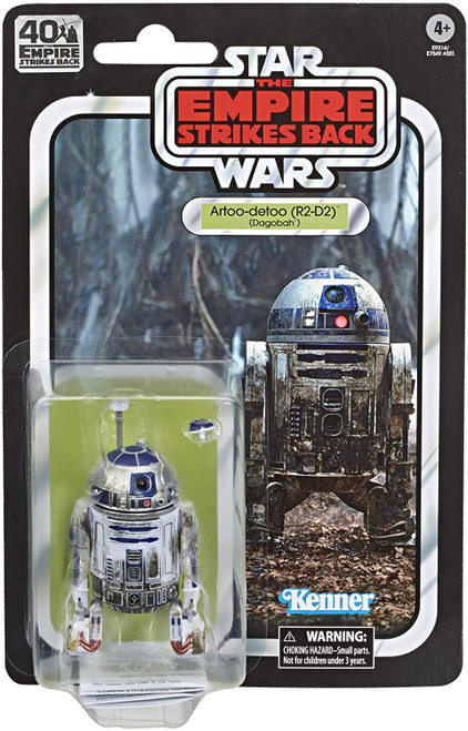 Star Wars The Empire Strikes Back 40th Anniversary Wave 2 R2-D2 Action Figure [Dagobah]