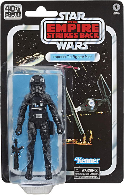 Star Wars The Empire Strikes Back 40th Anniversary Wave 2 Imperial TIE Fighter Pilot Action Figure