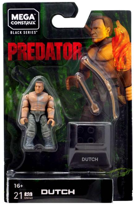 Mega Construx Predator Heroes Dutch Mini Figure