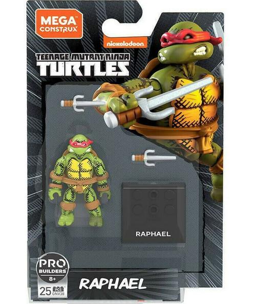 Mega Construx Teenage Mutant Ninja Turtles Heroes Raphael Mini Figure