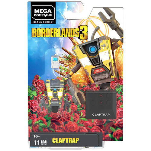 Borderlands 3 Heroes Claptrap Mini Figure