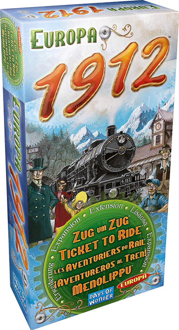 Ticket to Ride Europa 1912 Board Game Expansion