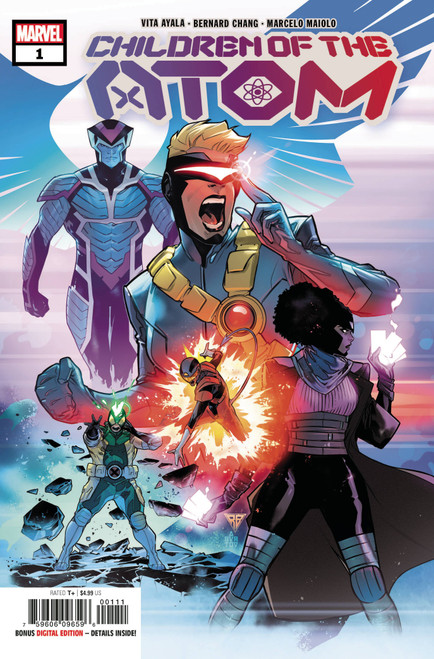 Marvel Comics Children of the Atom #1 Comic Book