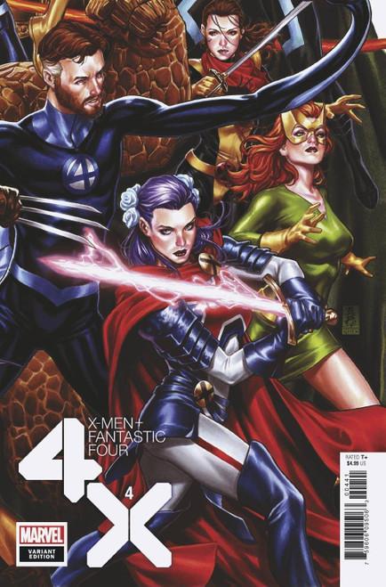 Marvel X-Men & Fantastic Four #4 of 4 Comic Book [Mark Brooks Variant Cover]