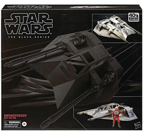 Star Wars Rebels Black Series Snowspeeder with Dak Ralter Action Figure Vehicle