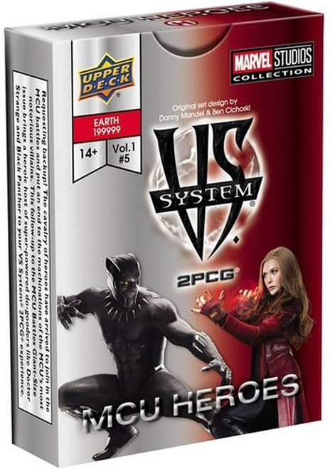 Marvel VS System Trading Card Game 2PCG MCU Heroes Expansion