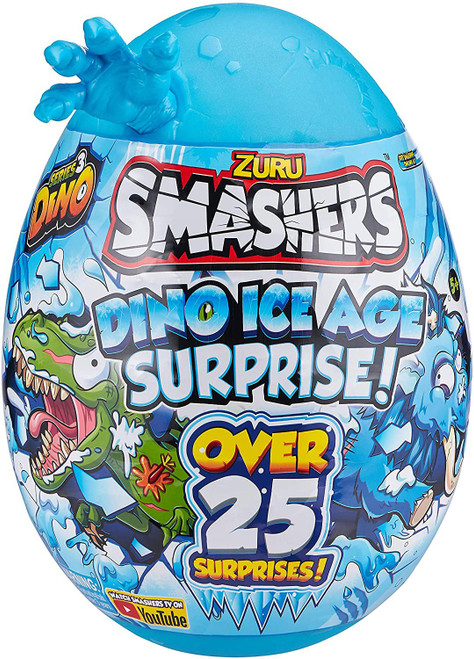 Smashers Series 3 Dino Ice Age RANDOM Dino! EPIC Surprise! Mystery Egg