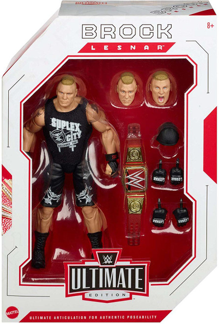 WWE Wrestling Ultimate Edition Brock Lesnar Action Figure