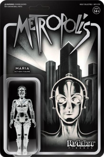ReAction Metropolis Maria Action Figure [Vac Metal Silver]