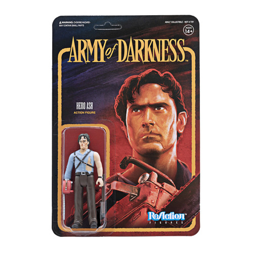 ReAction Army of Darkness Hero Ash Action Figure