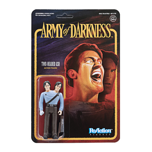 ReAction Army of Darkness Two Headed Ash Action Figure