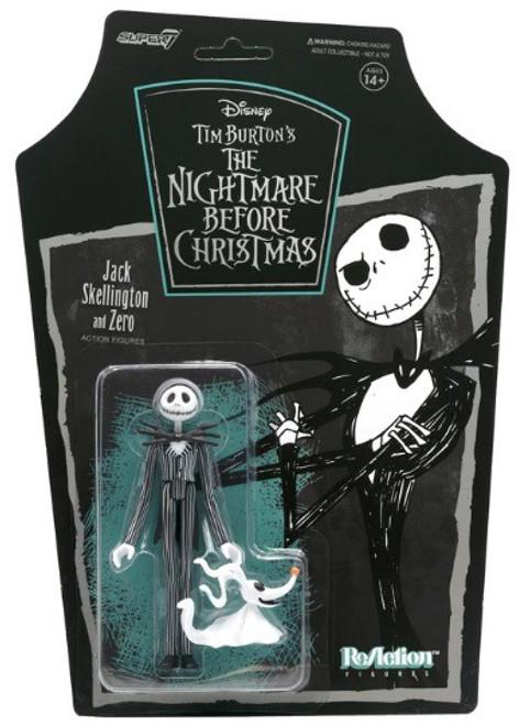 ReAction Nightmare Before Christmas Jack Skellington Action Figure