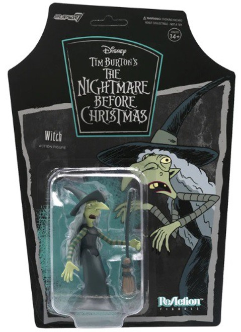 ReAction Nightmare Before Christmas Witch Action Figure