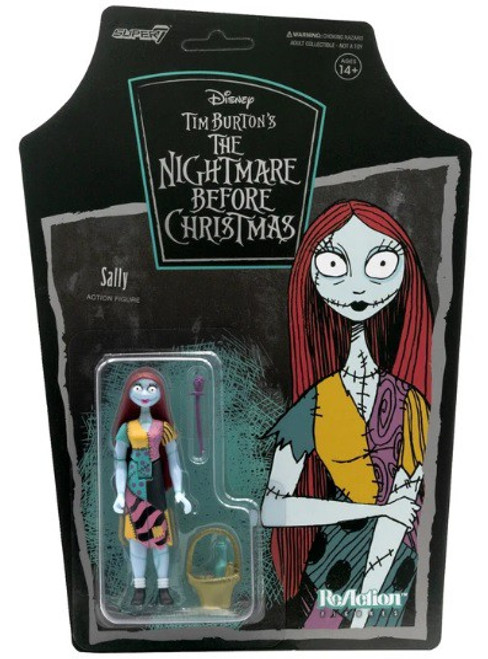 ReAction Nightmare Before Christmas Sally Action Figure